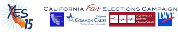 Fair Elections coalition logos