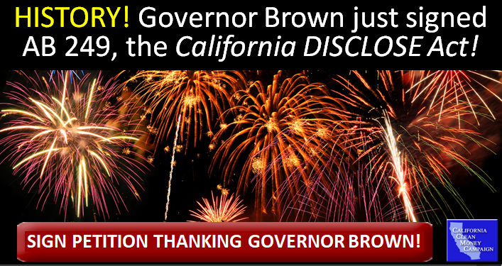 Gov Brown signs AB 249
