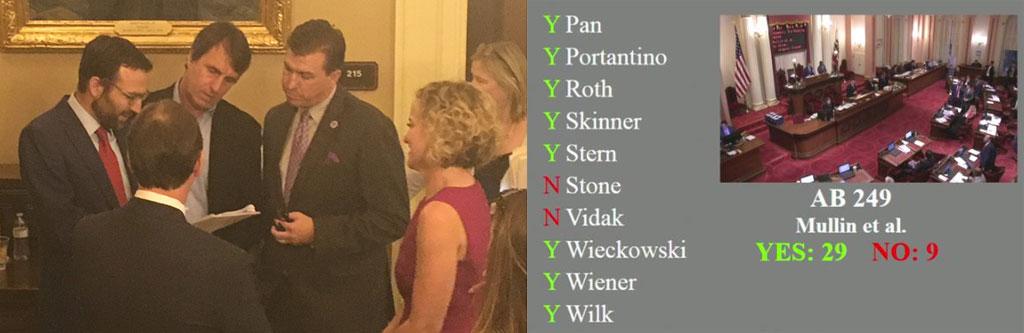 AB249 passes Senate