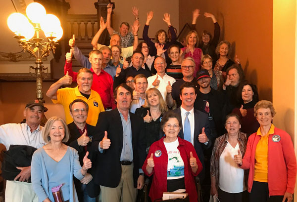 Senate Elections Committee Victory for SB636