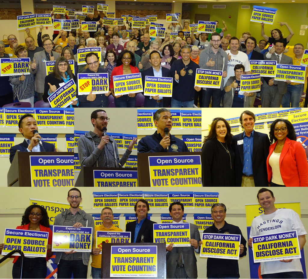 Secure the Vote Campaign Kickoff